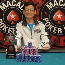 MPC June Special Winner - PokerStars sponsored Wing Cheong Chong from Hong Kong