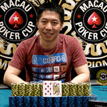 Event1 winner Jian Yang